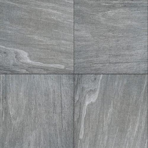 Cera4Line Mento Cuarcita Plata, 60x60x4 cm.
