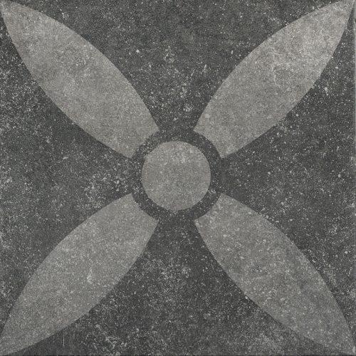 Designo gecoate tegels Malva donkergrijs 60x60x3 cm.