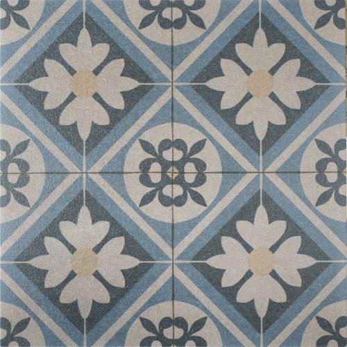 Designo gecoate tegels Mosaic Blue 60x60x3 cm.
