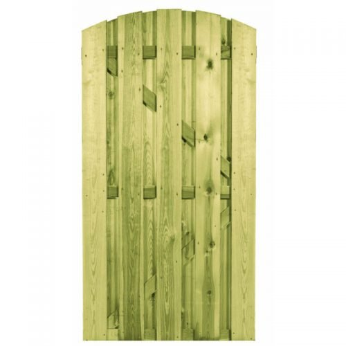 Grenen poort met toog 180x90 cm. (103444) Actie!