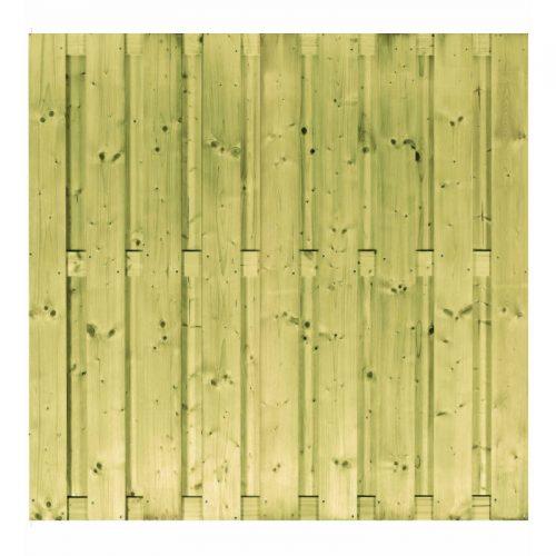 Vuren scherm 17 planks 180x180 cm. (103284)