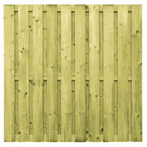 Vuren scherm 19 planks 180x180 cm. (103286)
