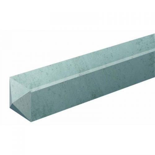 Hoekbetonpaal 10x10x280 cm. ongecoat (103352)