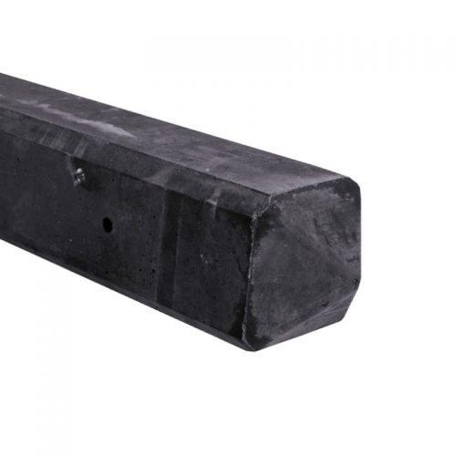 Eindbetonpaal 10x10x280 cm. rots serie ongecoat (137689)
