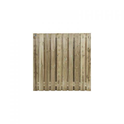 Grenen schermen 180x180 cm. 21 planks