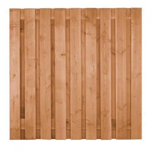 Douglas scherm ruw 19 planks 180x180 cm. (103445)