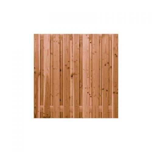Douglas scherm geschaafd 19 planks 180x180 cm. (103448)