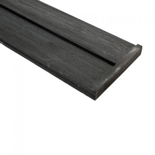 Onderplaat rabat houtmotief ongecoat (137101)