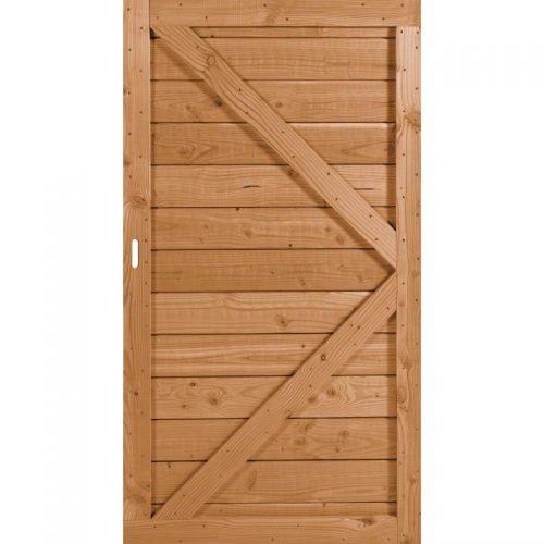 Douglas geschaafd deur