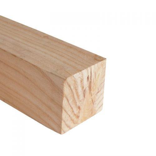 Douglas palen ruw 10x10 cm.