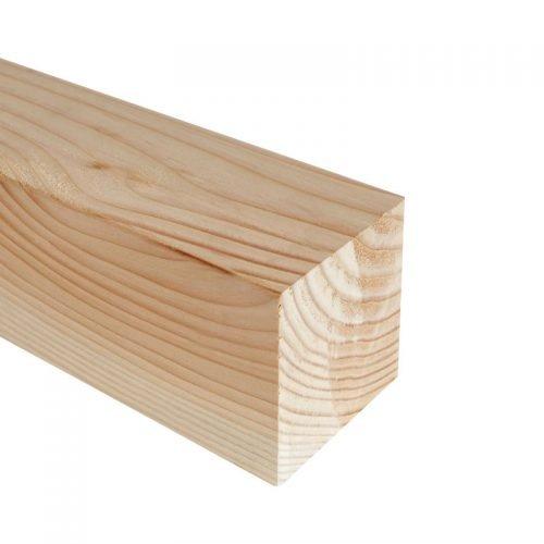 Douglas palen geschaafd 14.5x14.5 cm.