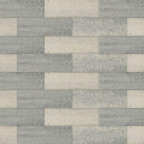 Betonsteen grijs/zwart 33x11x8 cm.