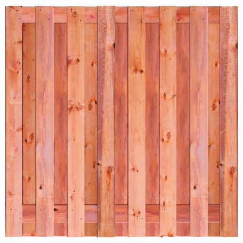 Red Class Wood schermen Marrakesh 180x180 cm. 15 planks