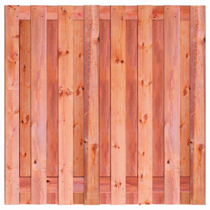Red Class Wood schermen Marrakesh 180x180 cm. 15 planks